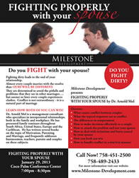 Fighting properly with your spouse